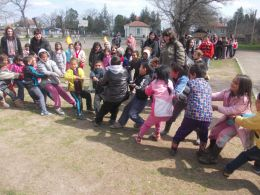 Пролетен спортен празник 2015 - ОУ Христо Ботев - село Съдиево, общ. Нова Загора
